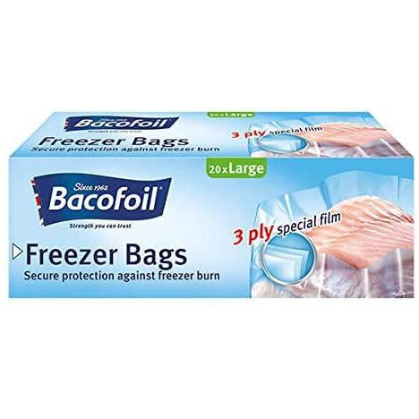 Bacofoil Freezer Bags 3L Pack 40