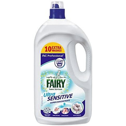 Fairy ULtra Sensitive Fabric Softener 190 Wash 3.8L