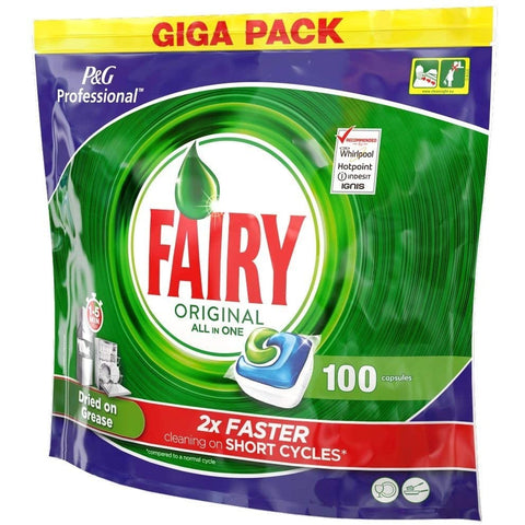 Fairy Dishwash Tablets Original Pack 100