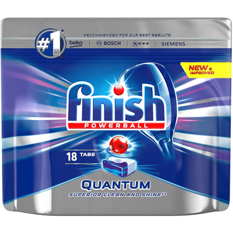 Finish Quantum Max Pack 18
