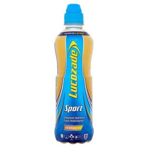 Lucozade Orange Body Fuel 500Ml Case 12