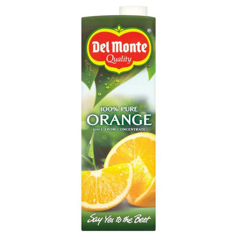 Del Monte Orange Juice Smooth 1Ltr