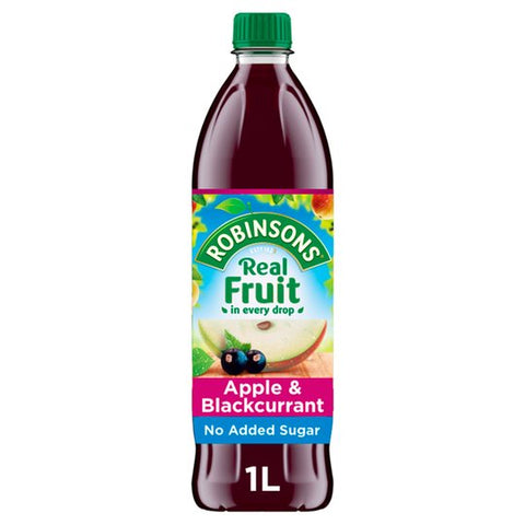 Robinsons Apple & Blackcurant 1Ltr