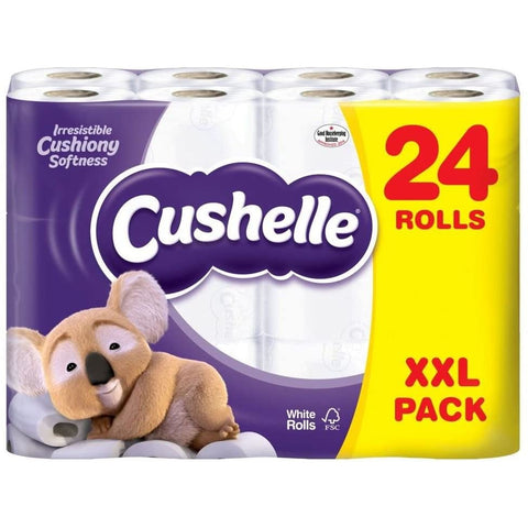 Cushelle Toilet Roll 2Ply 180 Sheet Case 24