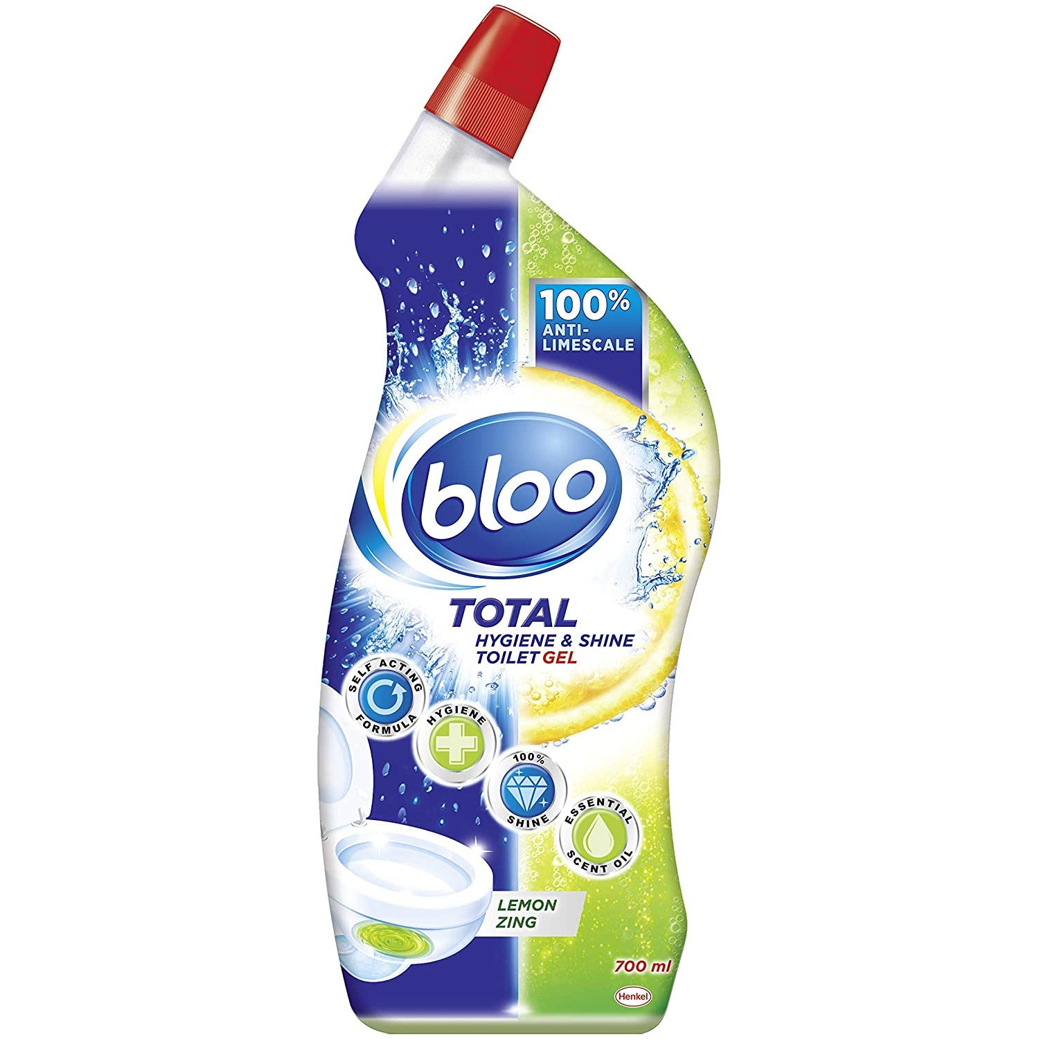Bloo Lemon Toilet Cleaner 700Ml
