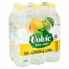 Volvic Touch Of Fruit Lemon&Lime 1.5Ltr Case 6