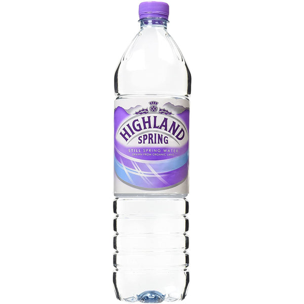 Highland Spring Still Water 1.5Ltr Case 6