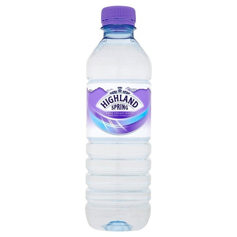Highland Spring Still Water 500ml Case 24