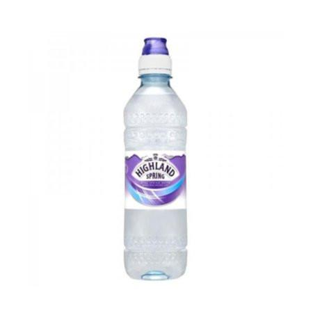 Highland Spring Still Water Sports Cap 500Ml Case 24