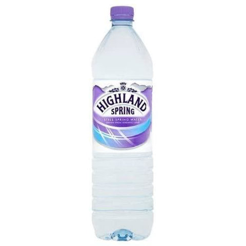 Highland Spring Still Water 1.5Ltr Case 12