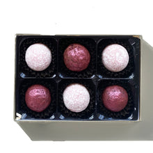 Load image into Gallery viewer, 6 chocolate truffles in a box