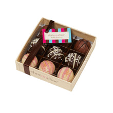 Load image into Gallery viewer, chocolate truffle selection box containing nine truffles
