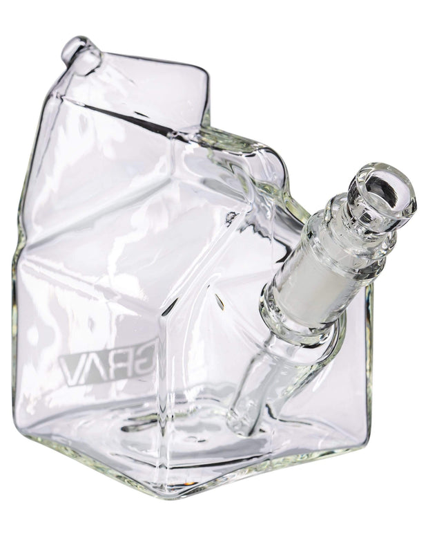 GRAV MILK CARTON BUBBLER WATER BONG