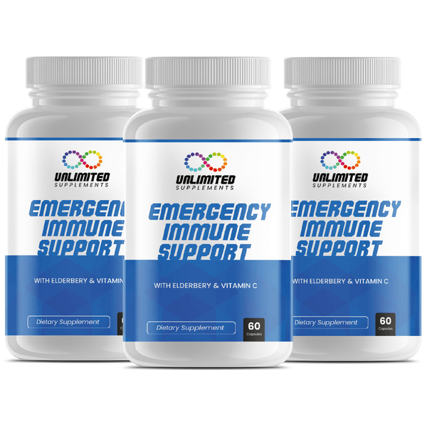 Emergency Immune Booster – 3 months Supply!