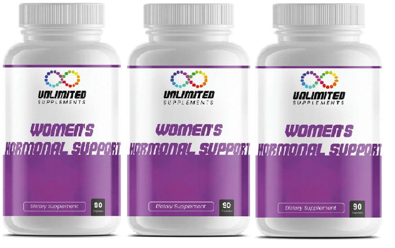 WOMEN'S HORMONAL SUPPORT - 3 month supply!
