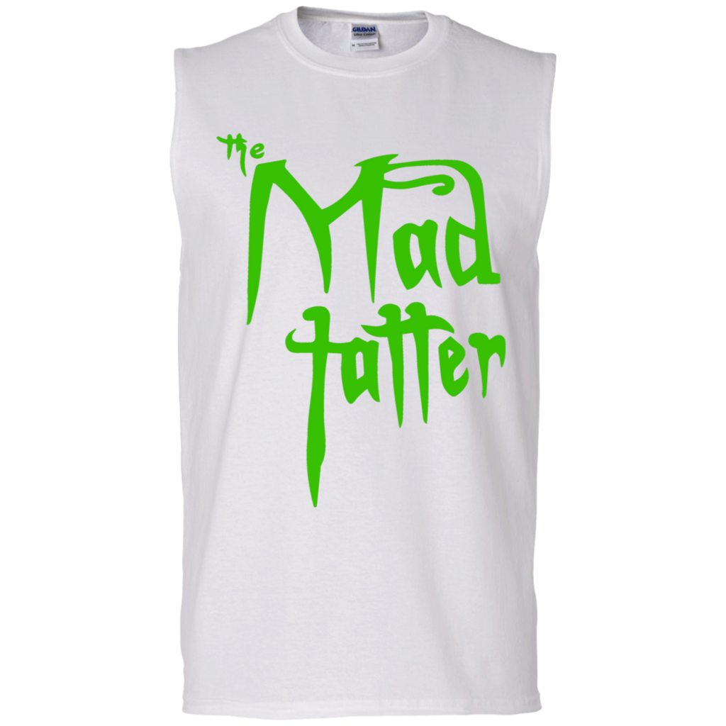 Men's Mad Tatter Sleeveless T-Shirt - Green Logo