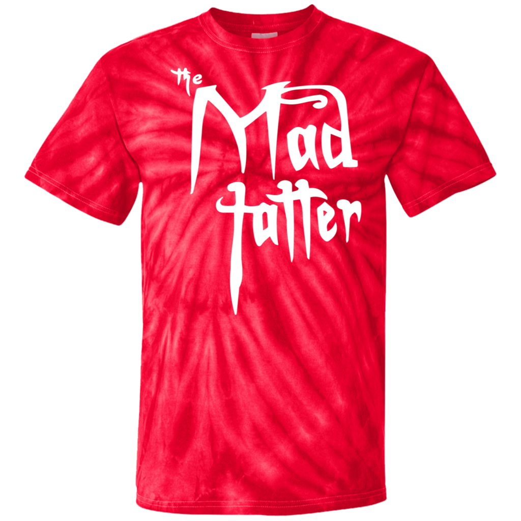 Mad Tatter Tie Dye T-Shirt - White Logo