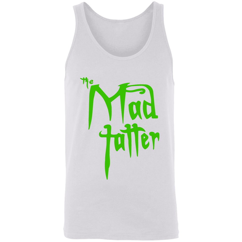 Mad Tatter Unisex Tank - Green Logo