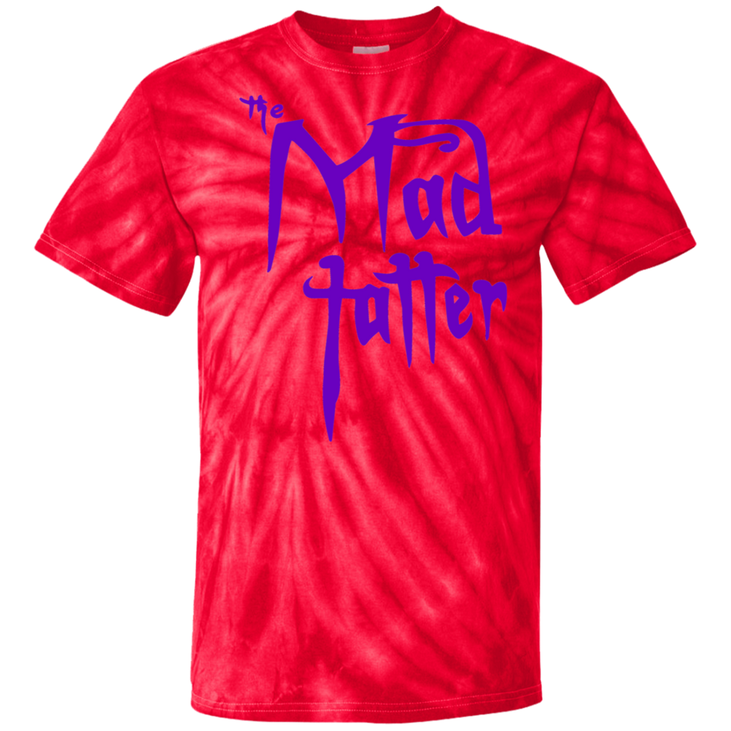 Mad Tatter Tie Dye T-Shirt - Purple Logo