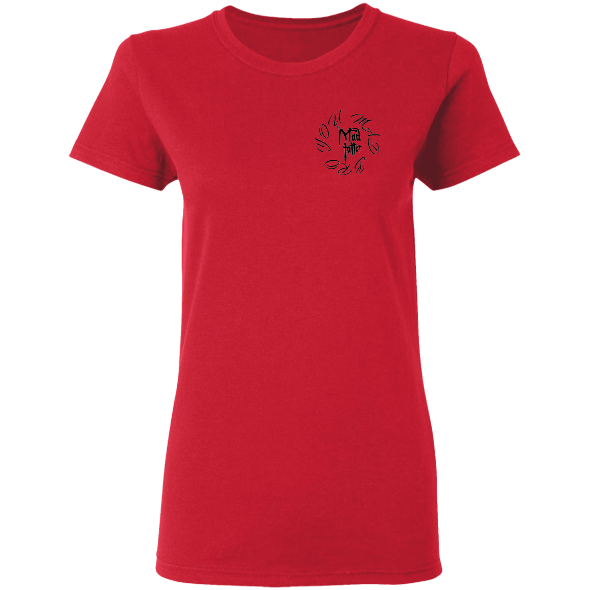 Ladies' Space Weasel T-Shirt - Black Logo