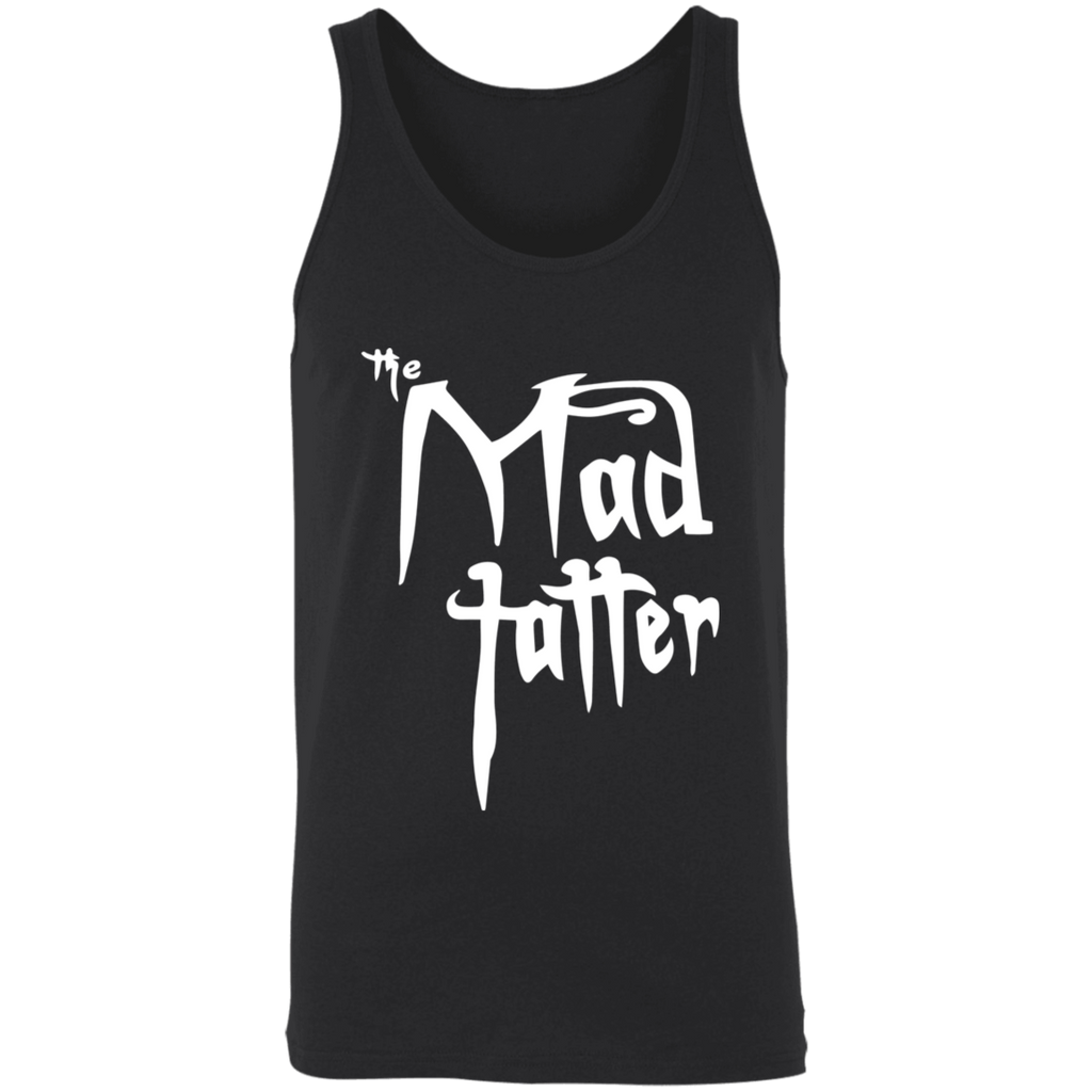 Mad Tatter Unisex Tank - Fuck It, White Logo