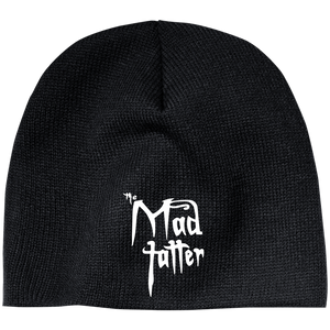 Mad Tatter Beanie - White Logo