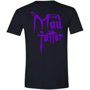 Mad Tatter Softstyle T-Shirt - Purple Logo