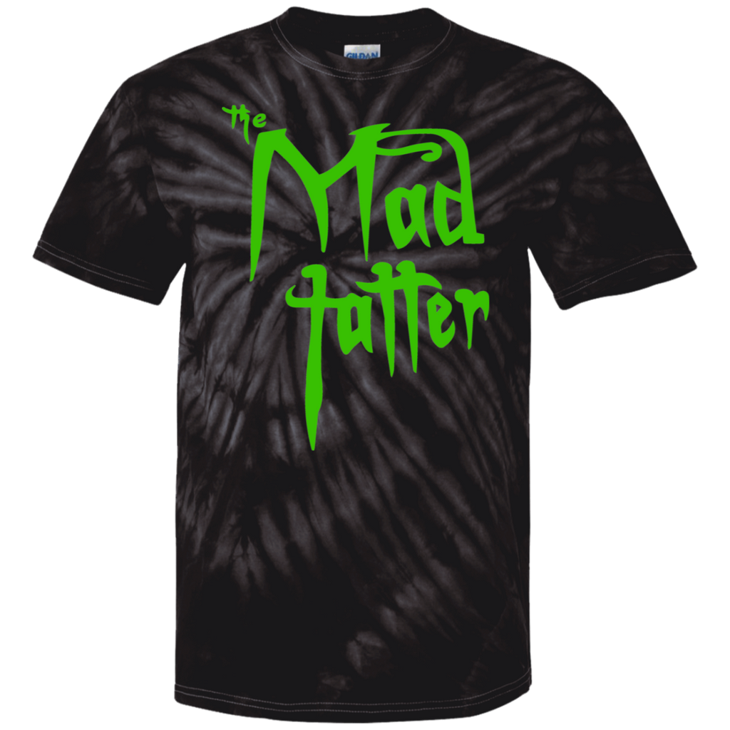 Mad Tatter Tie Dye T-Shirt - Green Logo