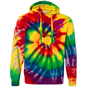 Mad Tatter Tie-Dyed Pullover Hoodie - Green Logo
