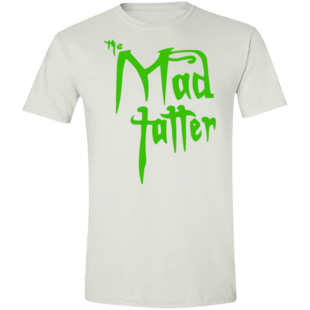 Mad Tatter Softstyle T-Shirt - Green Logo