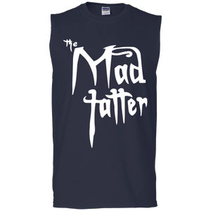 Men's Mad Tatter Sleeveless T-Shirt - White Logo