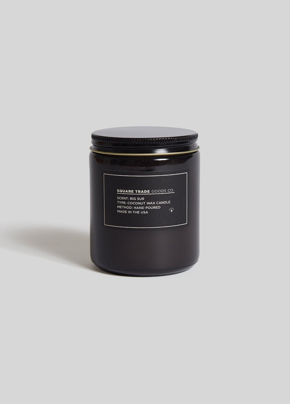 Big Sur Candle 8oz- Square Trade Goods