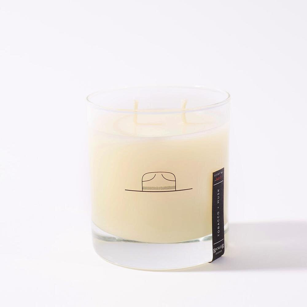 Tobacco + Musk Candle - Ranger Station