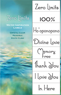 Zero Limits Water Blessings