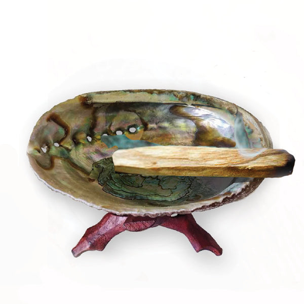 Abalone Shell Altar Kit for Ceremony & Purification