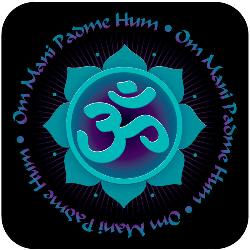 Om Mani Padme Hum Blessing Coaster