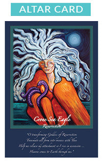 Crone Sea Eagle Altar Card