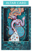 Sea Goddess Altar Card