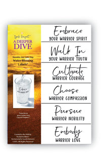 All Water Blessing Labels - All Sizes