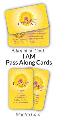 I AM Pass Along Cards