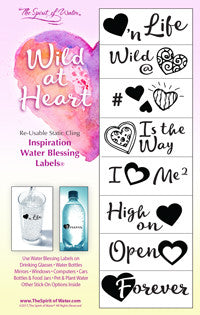 Wild at Heart Blessing Labels