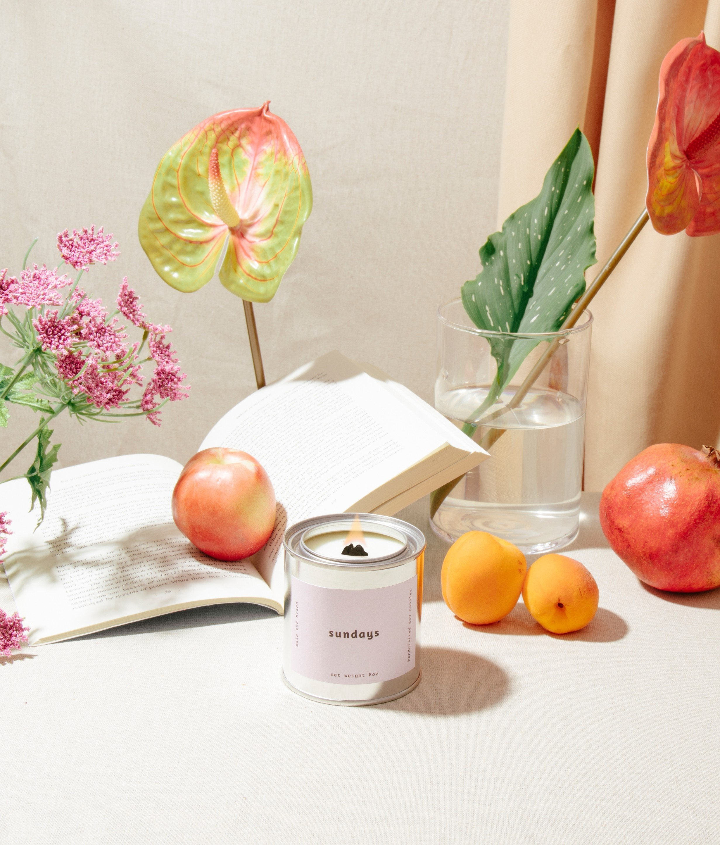 Mala The Brand - Sundays Candle makes the perfect housewarming gift for friends or family!