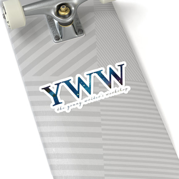 YWW Galaxy Logo Kiss-Cut Stickers