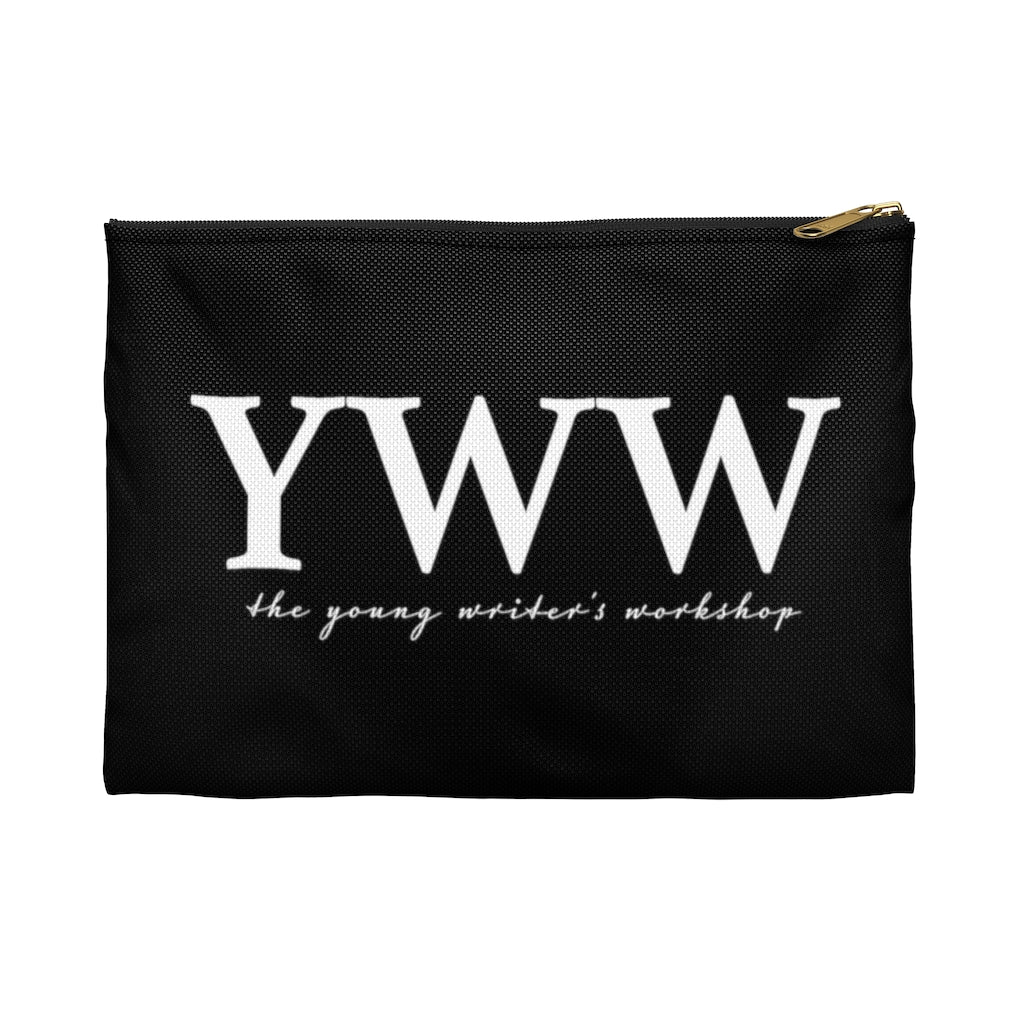YWW White Logo Pencil Case