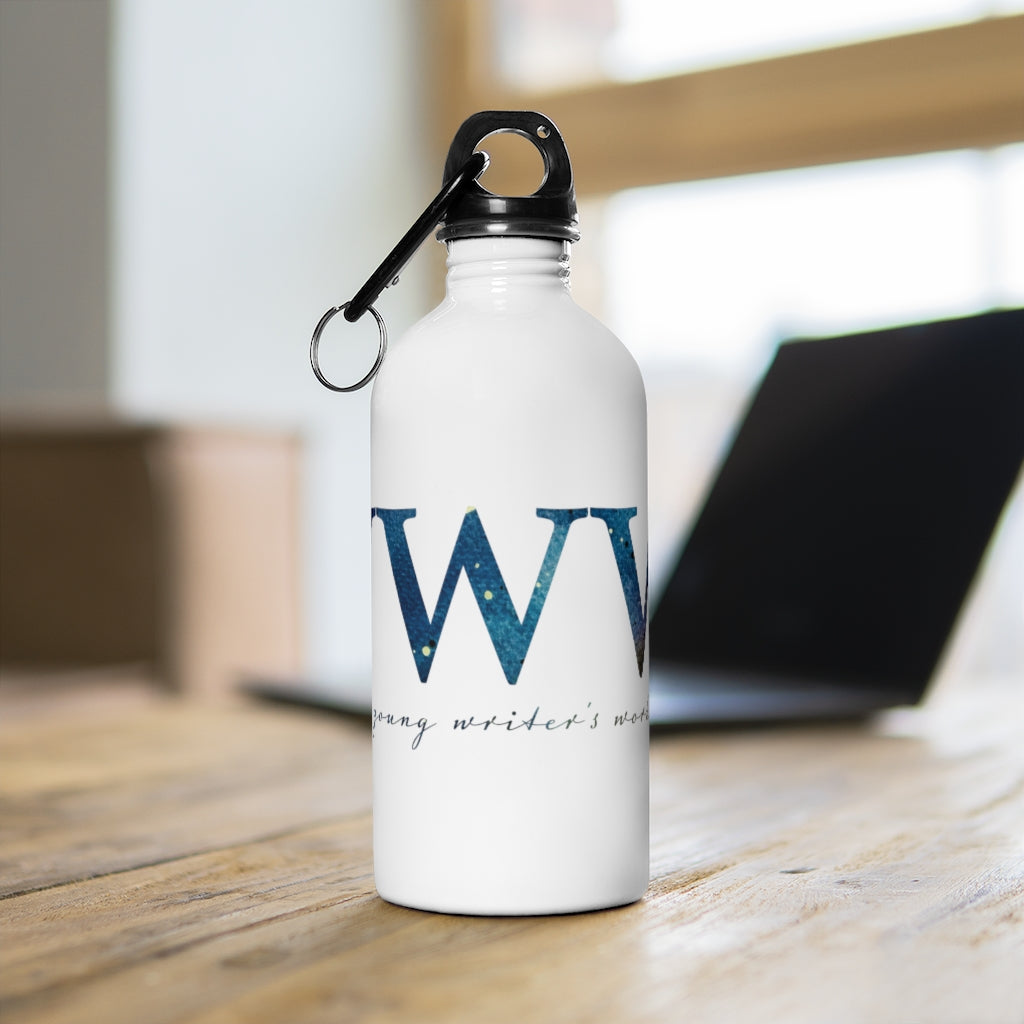 YWW Galaxy Logo Stainless Steel Water Bottle