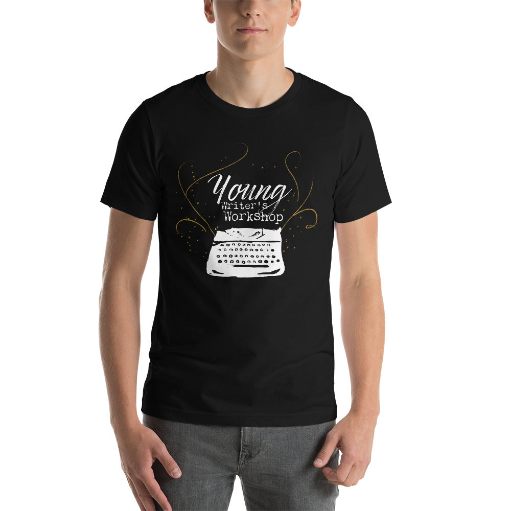 YWW White Typewriter Short-Sleeve Unisex T-Shirt