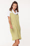Bungalow Jackie Funnel Neck Dress
