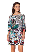 Tulum The Engineered Print dress