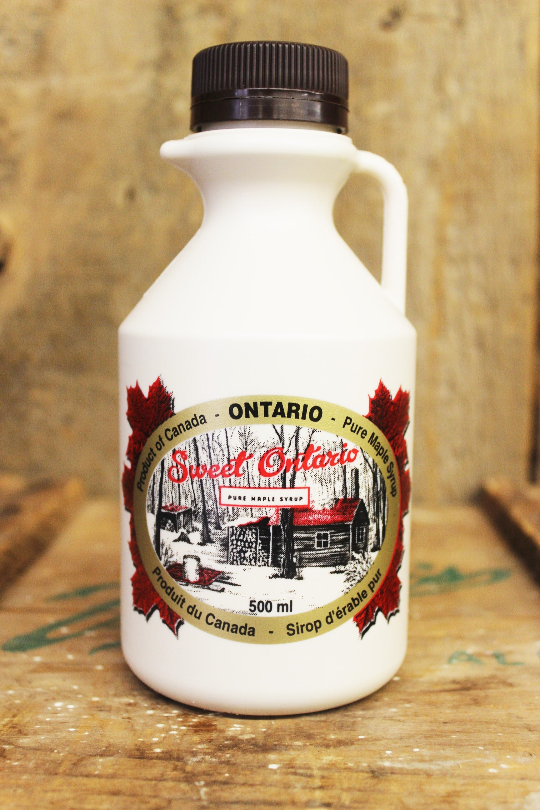 500mL Plastic Maple Syrup