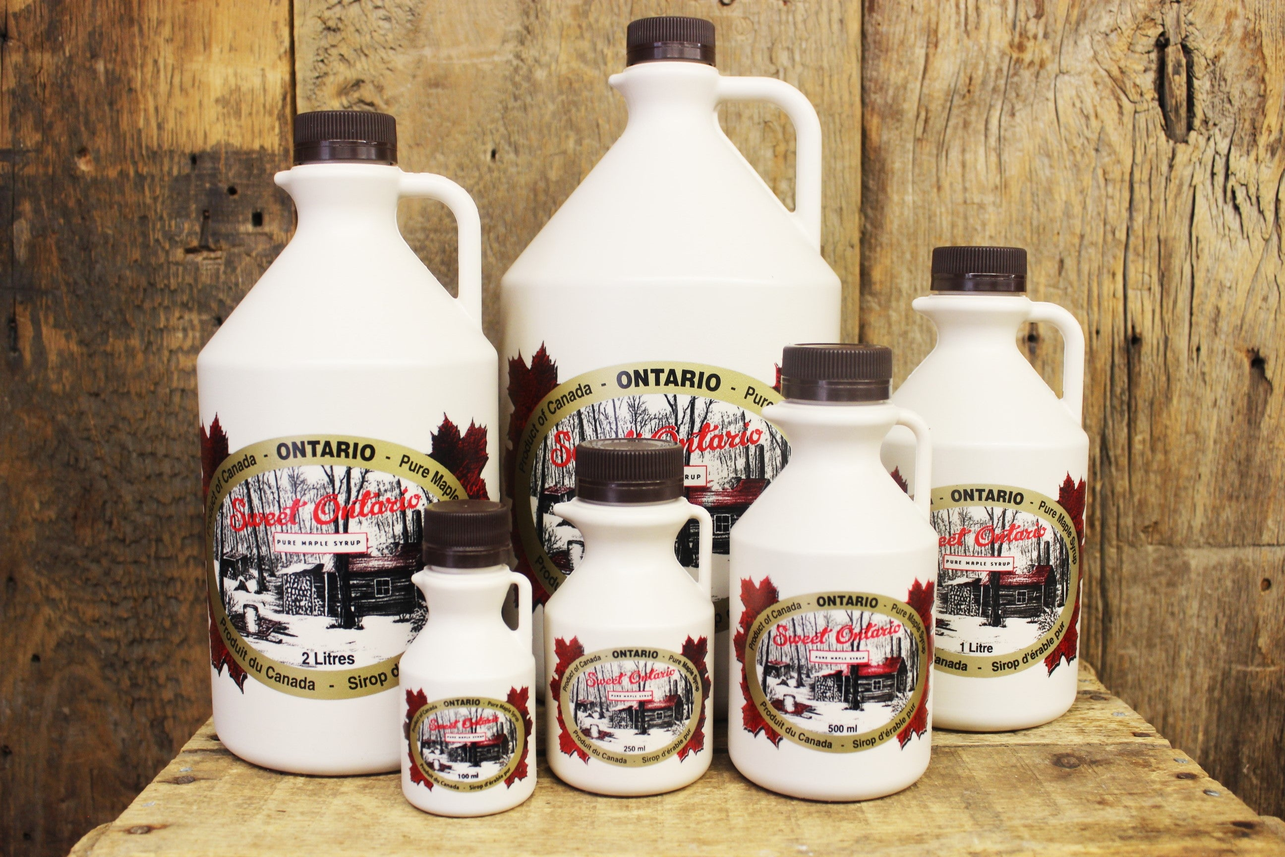 4L Plastic Maple Syrup